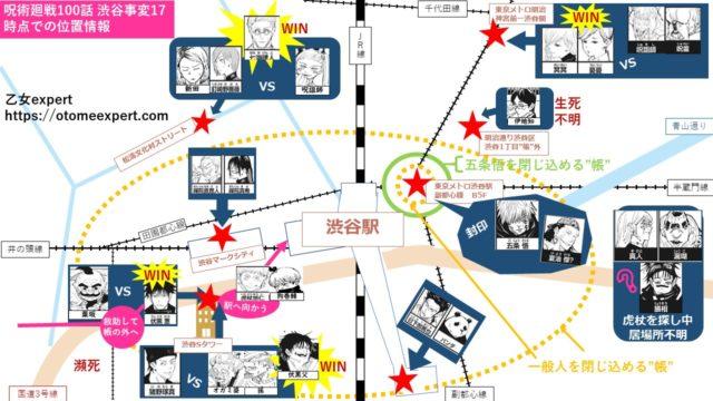 呪術廻戦100話ネタバレ最新確定!七海ぶちギレ呪詛師を瞬殺!